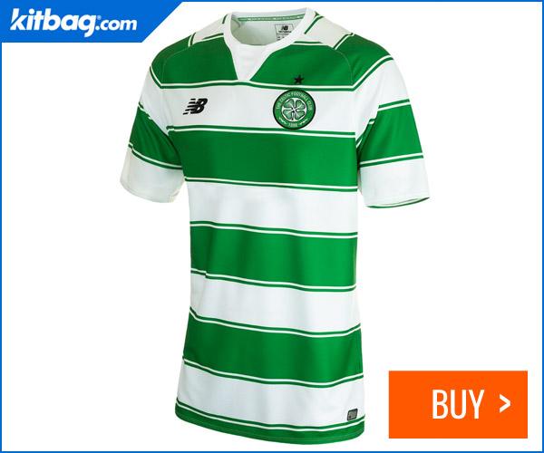 Kitbag Celtic Home Shirt 2015-16 Unsponsored