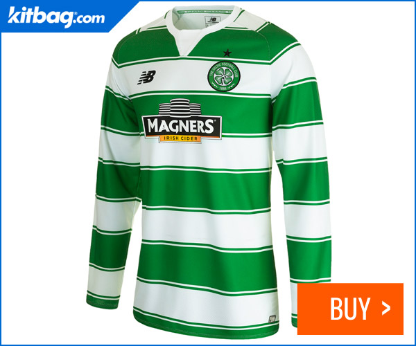 Kitbag Celtic Home Shirt Long Sleeve 2015-16