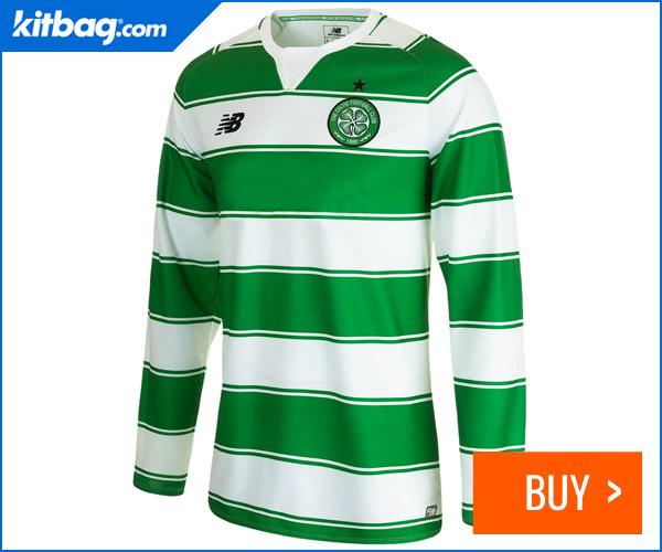 Kitbag Celtic Home Shirt Long Sleeve Kids 2015-16 Unsponsored