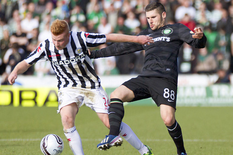 Football Talk: Celtic want Algerian striker, bye Commons, new St Mirren kit