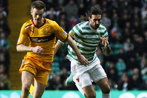 Celtic v Motherwell Photos