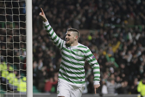 Gary Hooper wants to maintain strike partnership