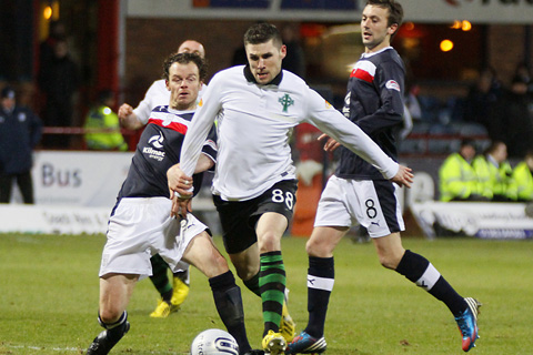 Dundee defender Lewis Toshney: Its my fault were down.. but challenge on Peter Pawlett was never a penalty
