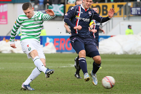 Ross County 1 Celtic 1