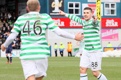 Stokes at the double to sink Hibs