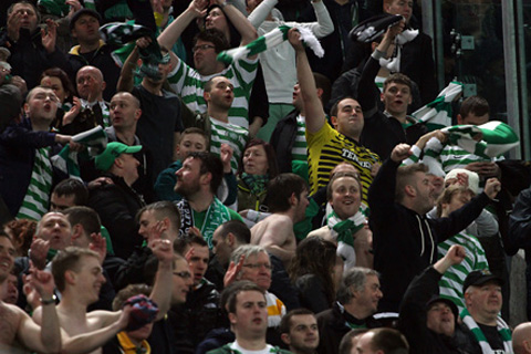 Celtic fans jailed over disorder