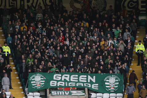 Celtic manager Neil Lennon calls on fans to end offensive chants and offers to meet Green Brigade members