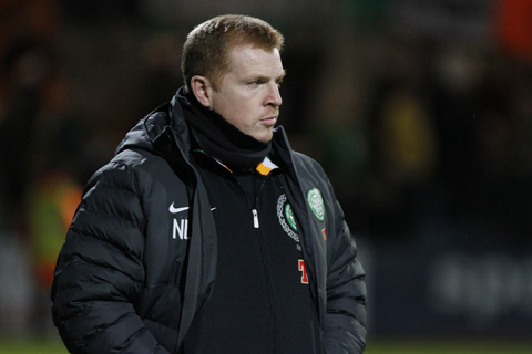 Heart attack: Celtic boss Neil Lennon victim of astonishing touchline assault