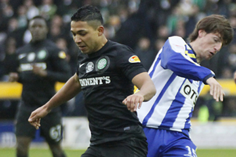 Everton Eye Celtic Star Emilio Izaguirre