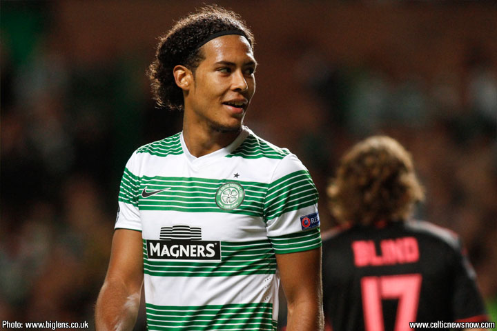 Celtic star Virgil van Dijk: I dont know about interest from Arsenal