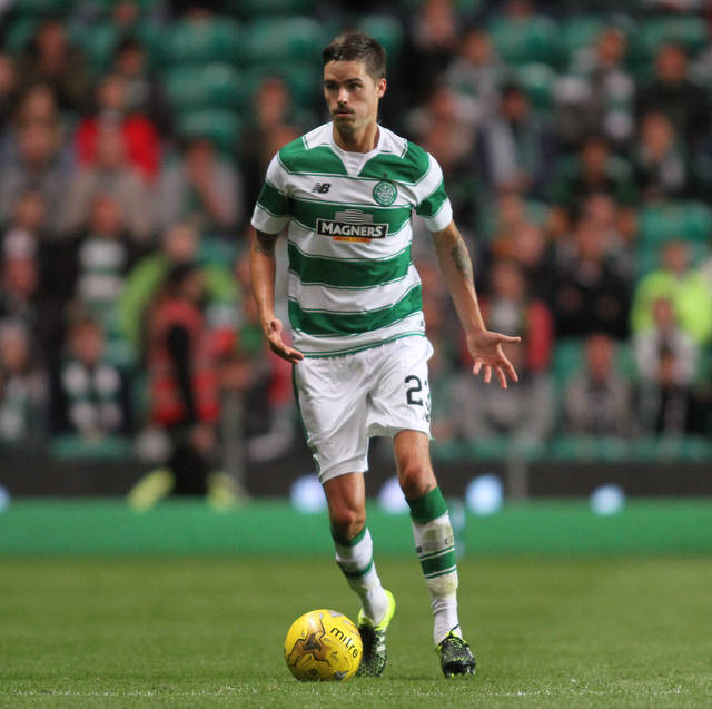 Watch Celtic star Mikael Lustig prove why he is a footballer and not a golfer