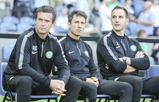 Ronny Deila, John Collins and John Kennedy - Celtic News Now