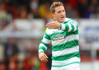 Hibs targeting extended loan deal for Celtic's Kris Commons