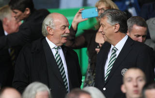 Dermot Desmond with Peter Lawwell - Celtic News Now