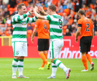 Kris Commons with Leigh Griffiths - Celtic News Now