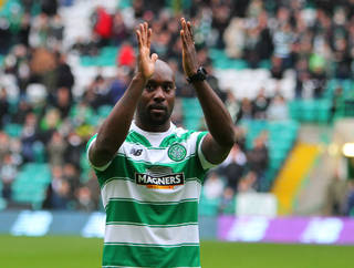 Leigh Griffiths and Carlton Cole react on Twitter after Celtic's 3-1 victory
