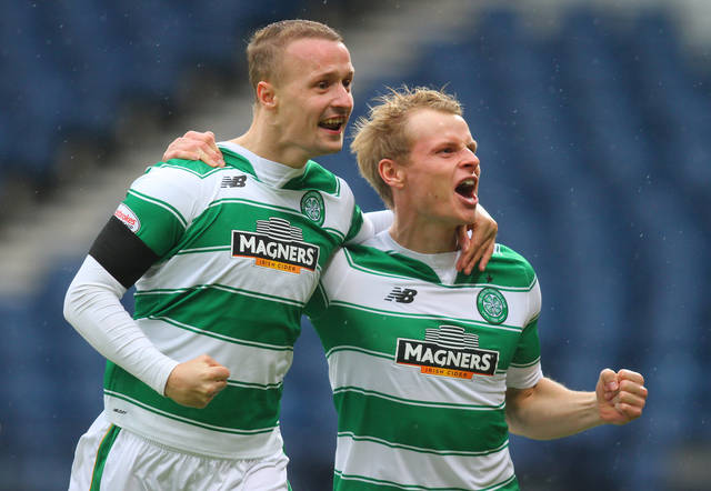 Leigh Griffiths and Gary Mackay-Steven - Celtic News Now