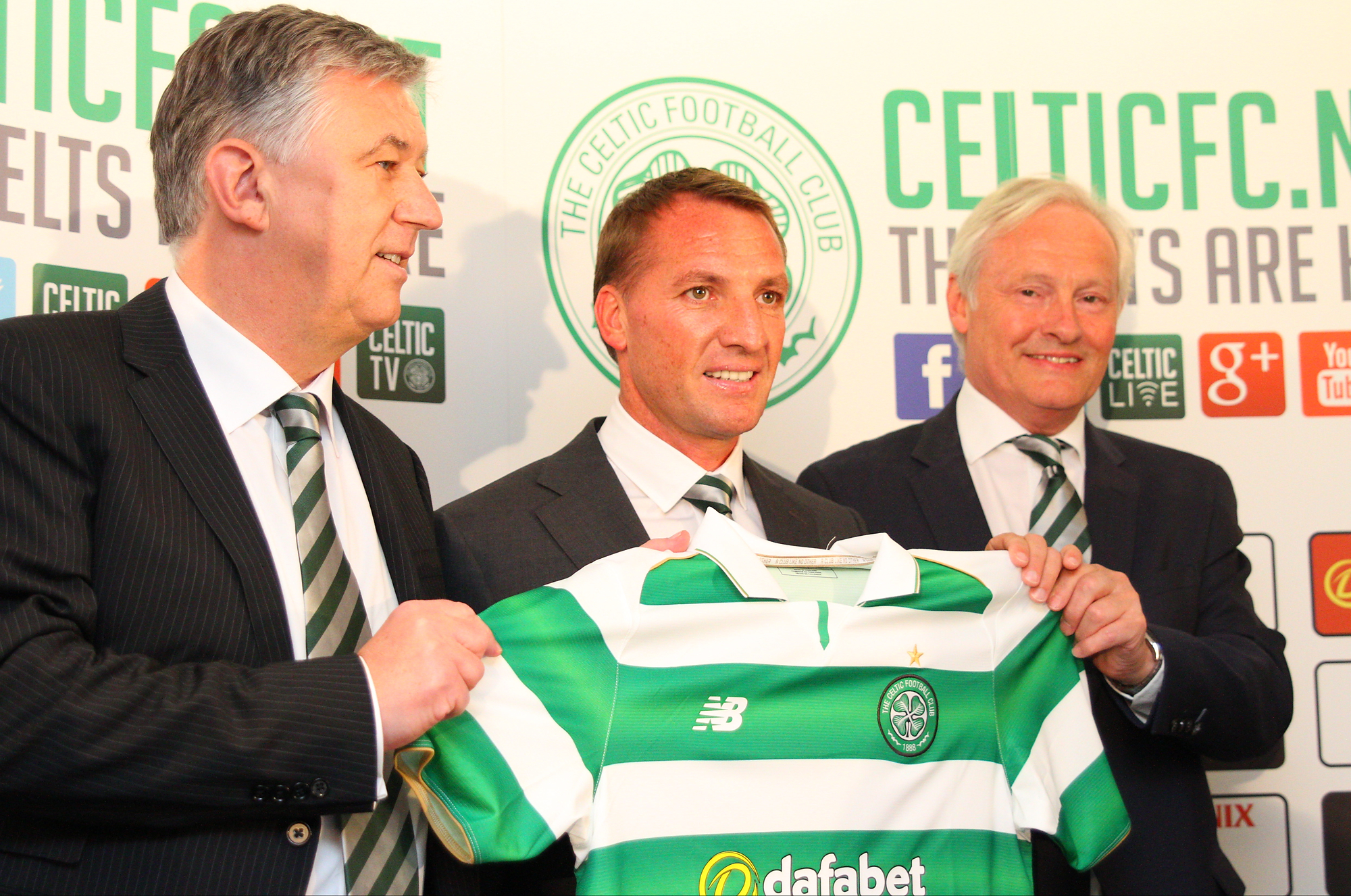Celtic manager Brendan Rodgers marries Charlotte Searle Celtic