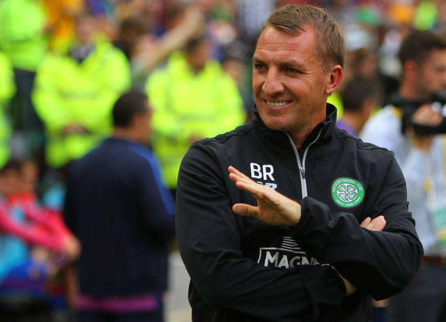 Brendan Rodgers and Stuart Armstrong claim a Celtic double