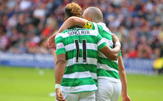 Scott Sinclair Thanks Leigh Griffiths For Giving Him Penalty to Break Scoring Record