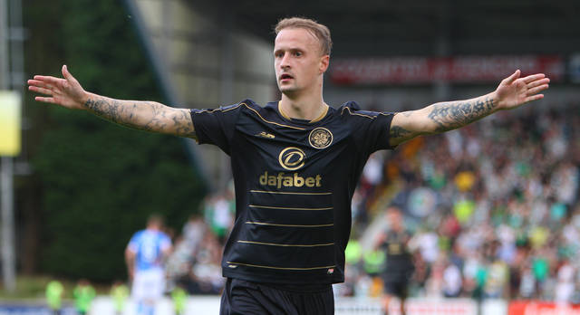 Celtic's Leigh Griffiths twists knife after O** F*** win