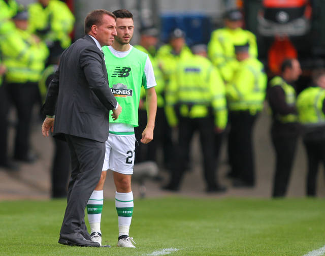 Cheers boss! Brendan Rodgers has made life VERY difficult for Celtic's new signing