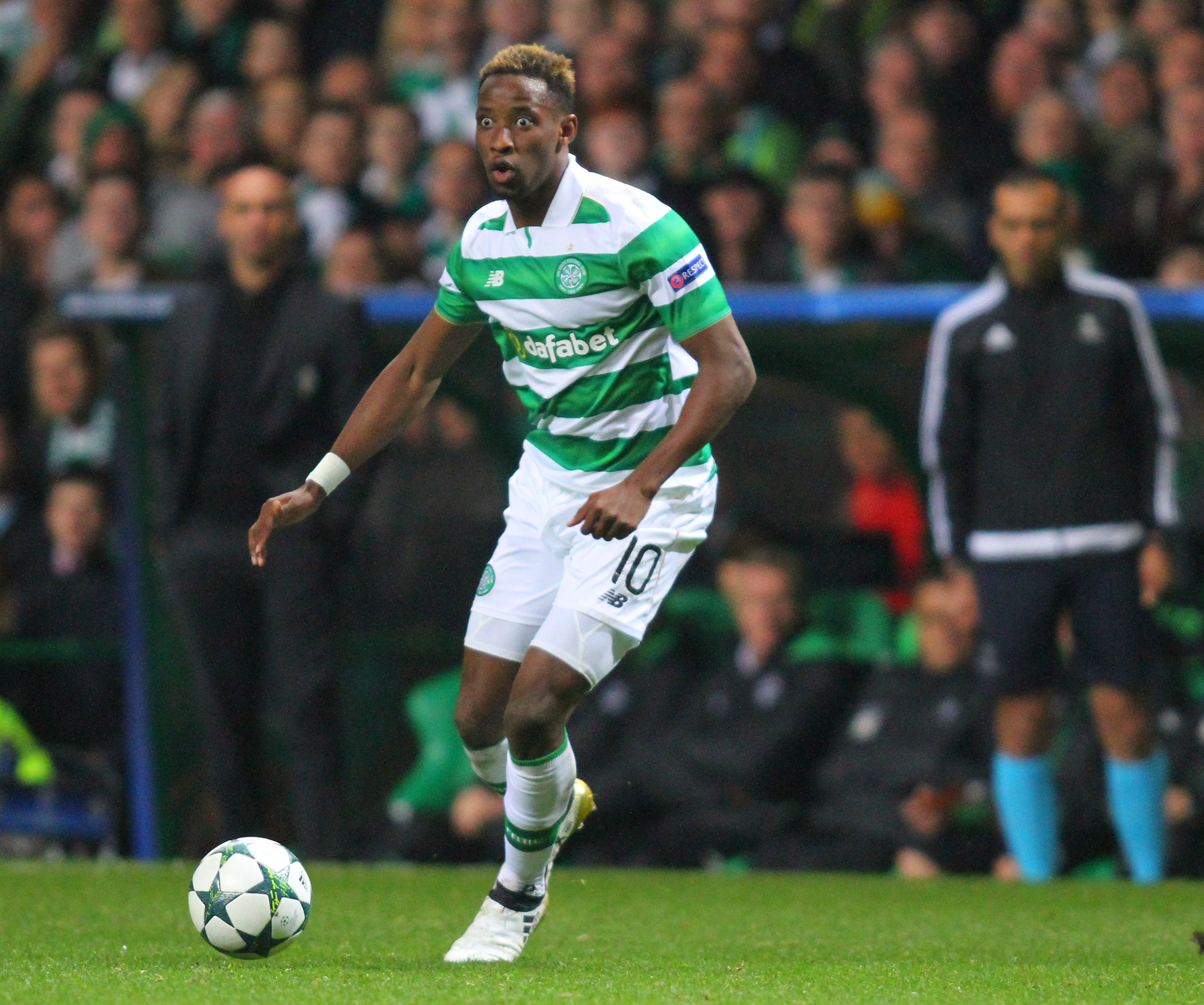 Brendan Rodgers Celtic have received no offers for Moussa