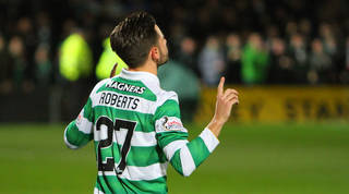 Manchester City 1-1 Celtic: Patrick Roberts' strike at home of his parent club earns Brendan Rodgers' side a point after Kelechi Iheanacho equaliser