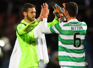 My Champions League shirt means the world to me, says Celtic keeper Craig Gordon