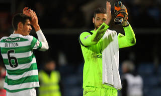 'Keeper Gordon wants his 'assists' counted as Celtic seek every opportunity to place emphasis on attack