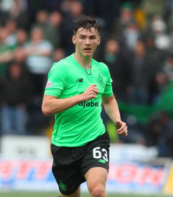 Kieran Tierney downplays Celtic exit reports