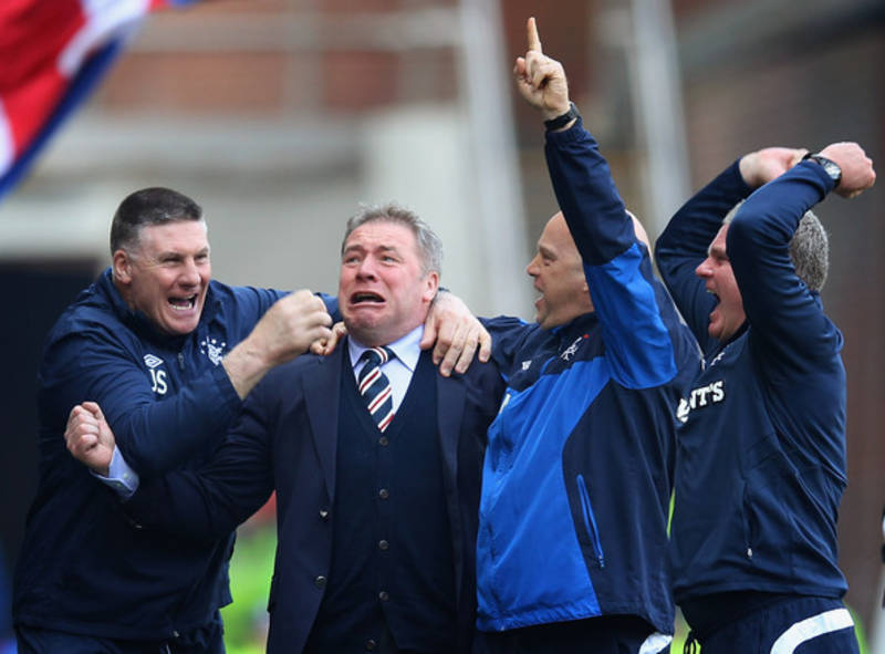 Super Salary says 'everything is fine' and blames Sevco's woes on Celtic fans