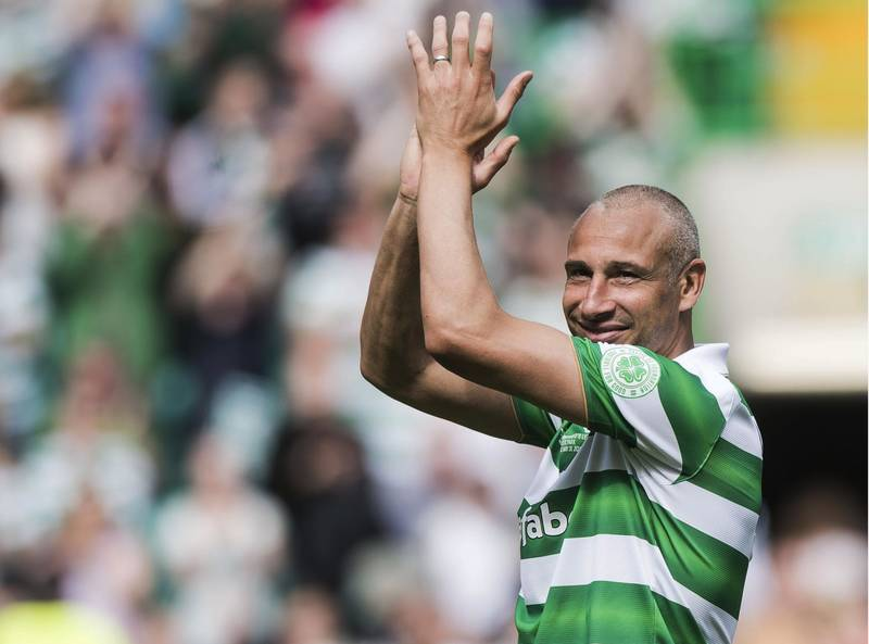 Henrik Larsson to pull on Celtic shirt again for Scott Brown testimonial