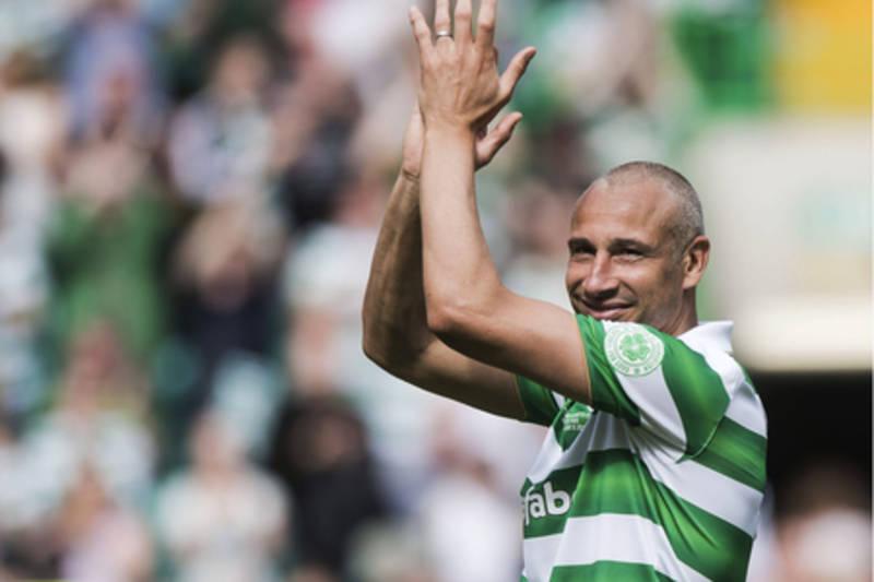 Henrik Larsson to make Celtic return for Scott Brown testimonial