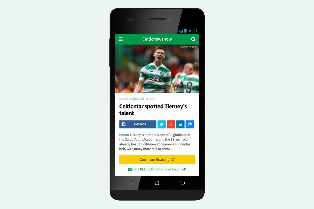 Get the Celticnewsnow app