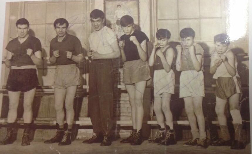 A photo of all the McMillan Boxing Bhoys